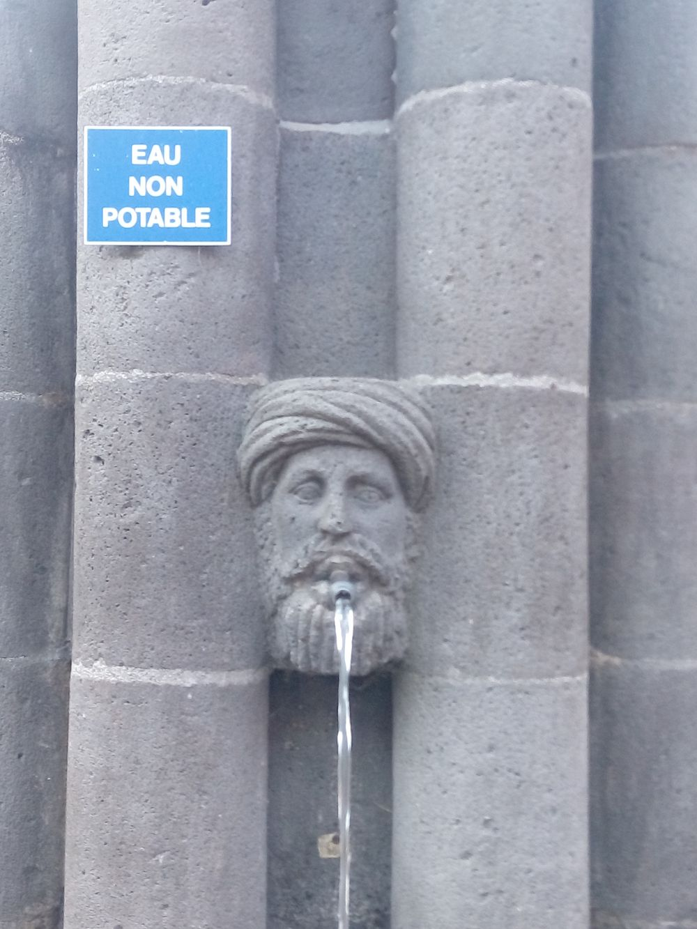 Eau Non Potable